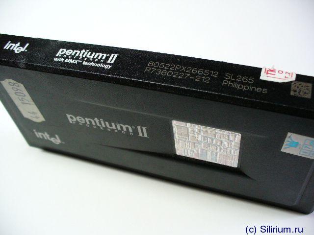 Intel 80522PX266512    Pentium II 266MHz slot 1 CPU with 512K cache SL265